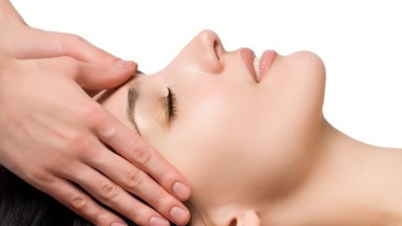Face and head massage